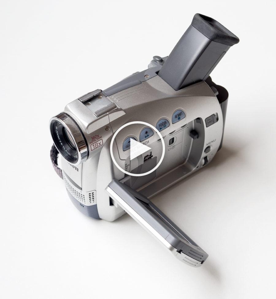 360°-Objekt Videokamera Canon MV 600i | HTML5 Objectmovie