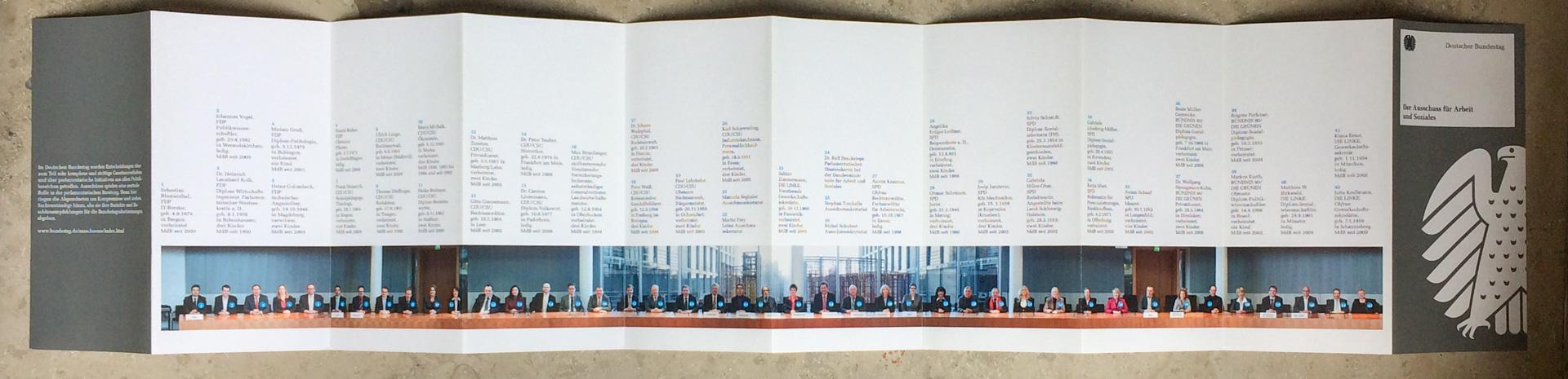 Ausschuss für Arbeit und Soziales - Ausschuss-Flyer (Leporello) - 360°-Foto: Chris Witzani