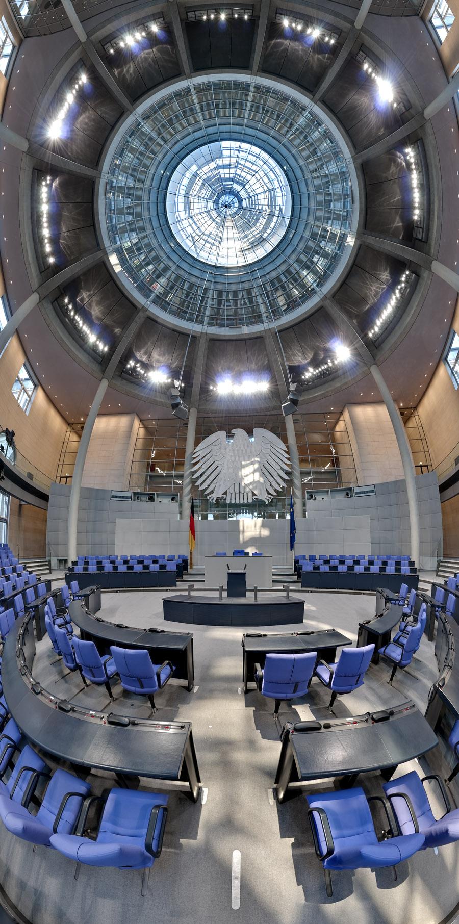 Plenarsaal Vertikal