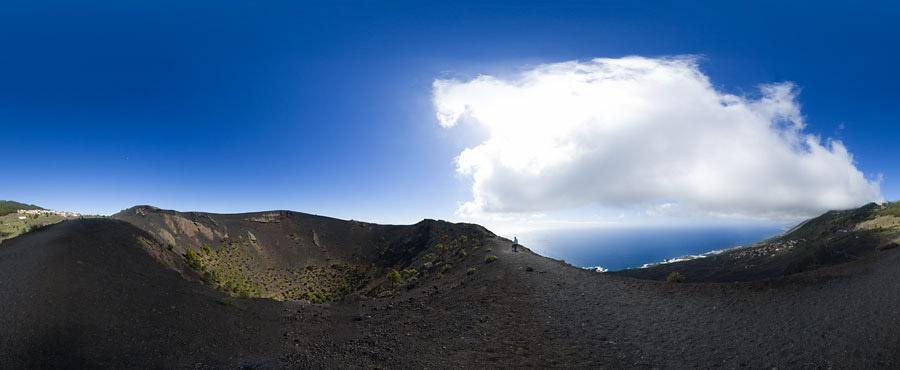 Vulkan San Antonio auf La Palma