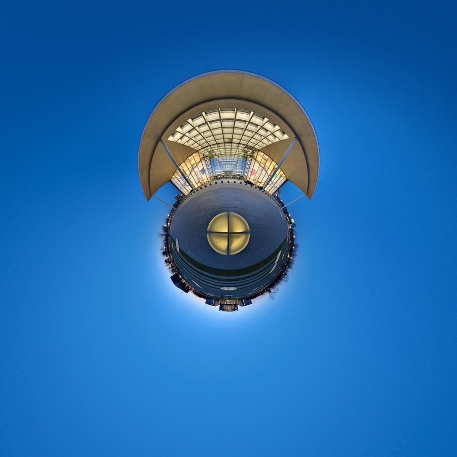 Paul-Löbe-Haus Nachtaufnahme