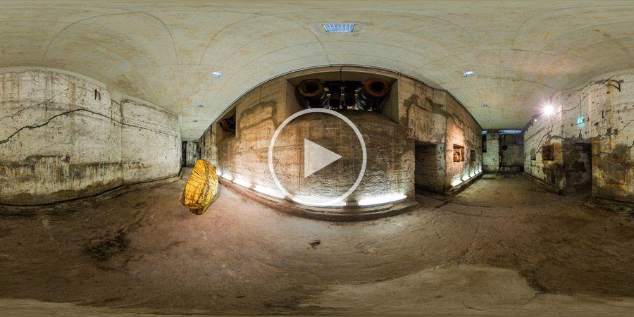 Skulptur von Karl Manfred Rennertz - 360°x180°-Panorama