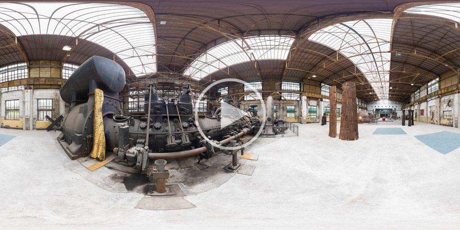Atelier.Industrie - Karl Manfred Rennertz - Kugelpanorama in der Henrichshütte