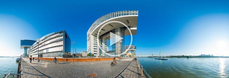 360° Kranhäuser in Köln