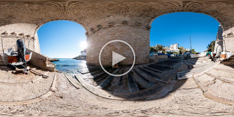 360°x180°-Panorama - La Calanque - Marseille | 10.2012