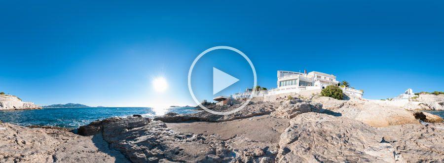 360°x180°-Panorama - Le Petit Nice Passedat - Marseille | 10.2012