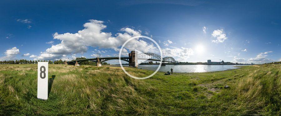 360°x180°-Panorama Südbrücke 8 Köln | 08.2006