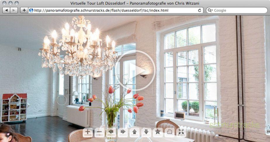 Virtuelle Tour Loft Düsseldorf | 02.2011