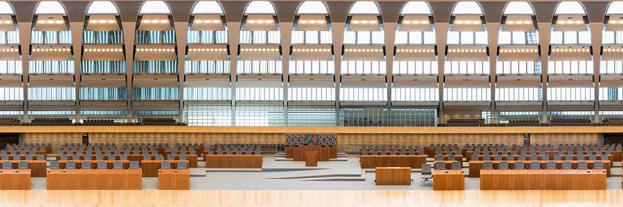 Plenarsaal Landtag NRW