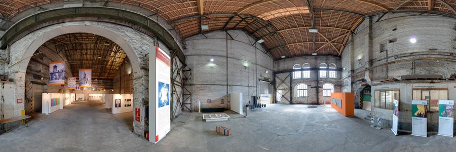 Kunstausstellung im Bessemer Stahlwerk der Henrichshütte Hattingen