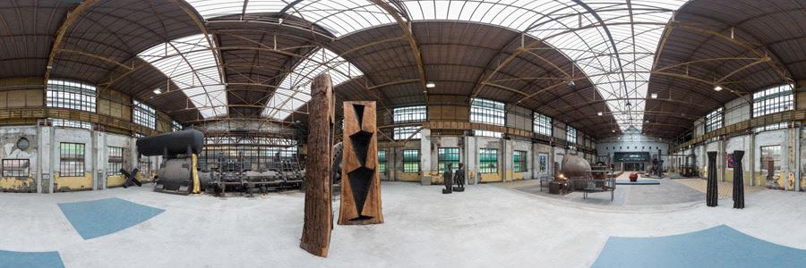 Gebläsehalle Henrichshütte - Kunstausstellung