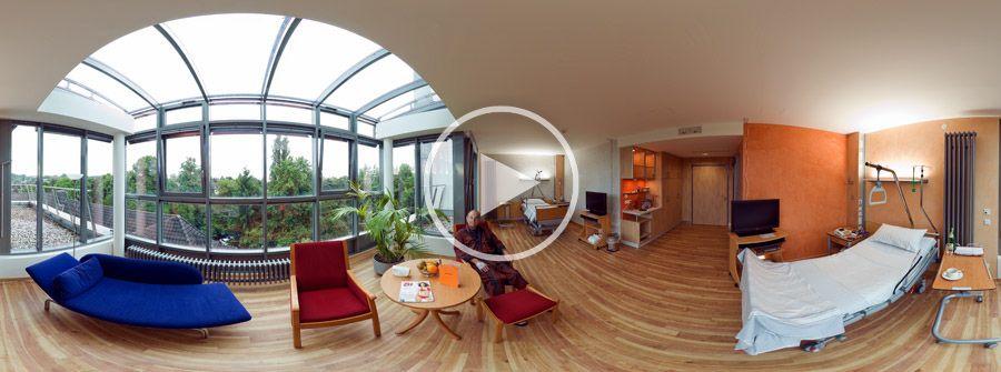 360°x180°-Panorama Hotel-Klinik - Evangelisches Krankenhaus Bergisch-Gladbach
