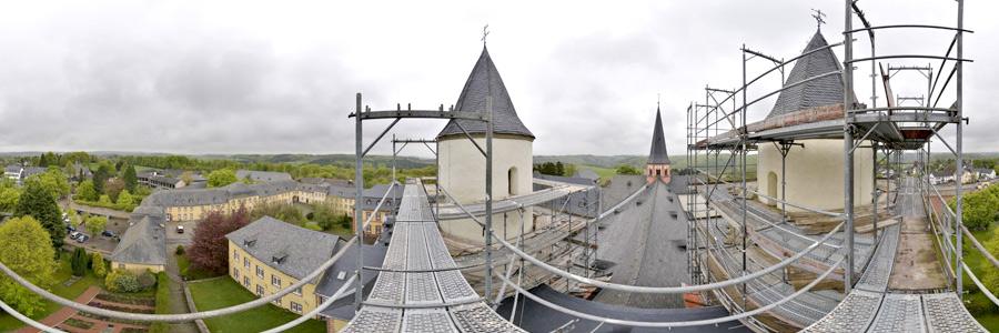 Kloster Steinfeld Gerüst