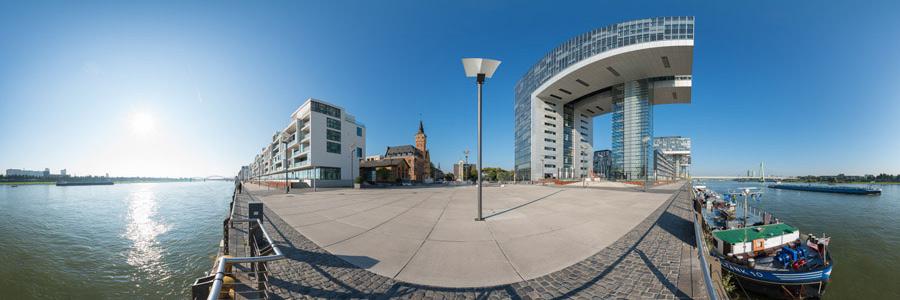 Kölner Kranhäuser Panorama #5