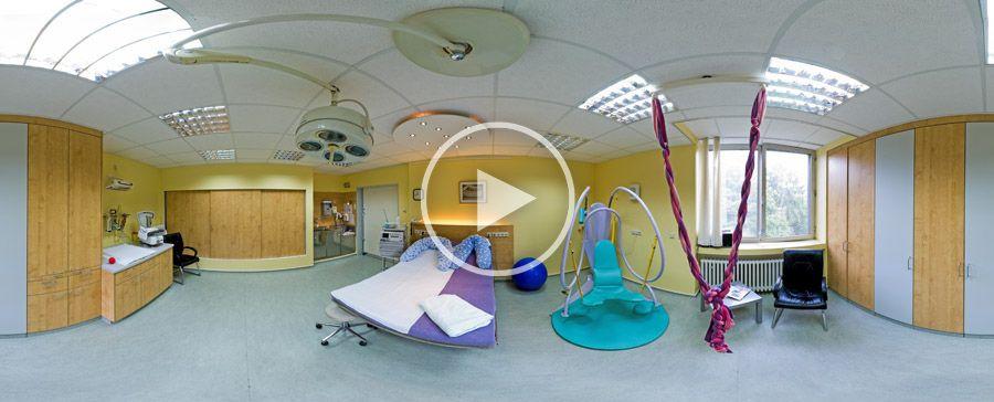 360°x180°-Panorama Kreisssaal im Evangelischen Krankenhaus Bergisch-Gladbach
