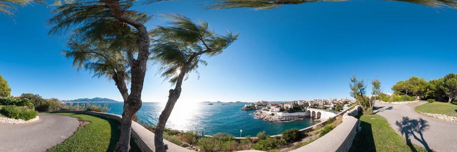 Parc Valmer et Petit Nice à Marseille