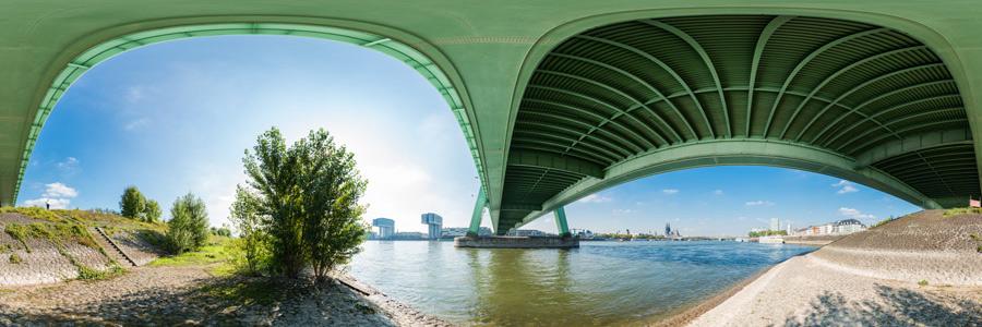 Unter der Severinsbrücke #2