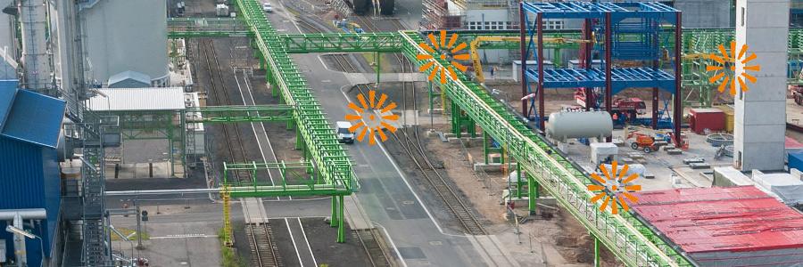 Virtuelle Tour entlang einer Rohrbrückenstrecke
