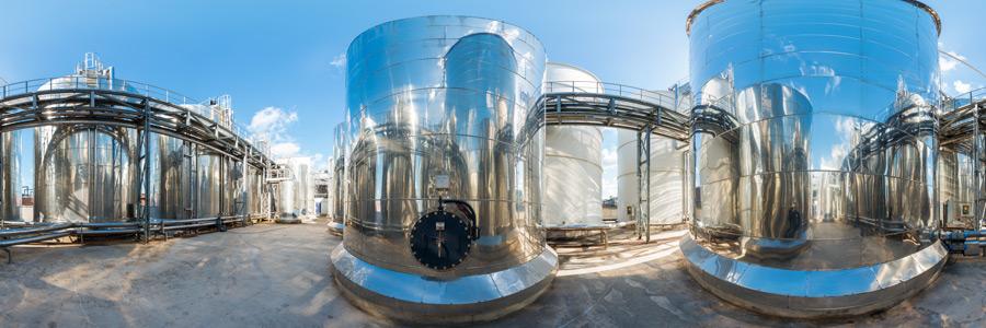 REMONDIS Lippewerk - EcoMotion Biodiesel Tanks