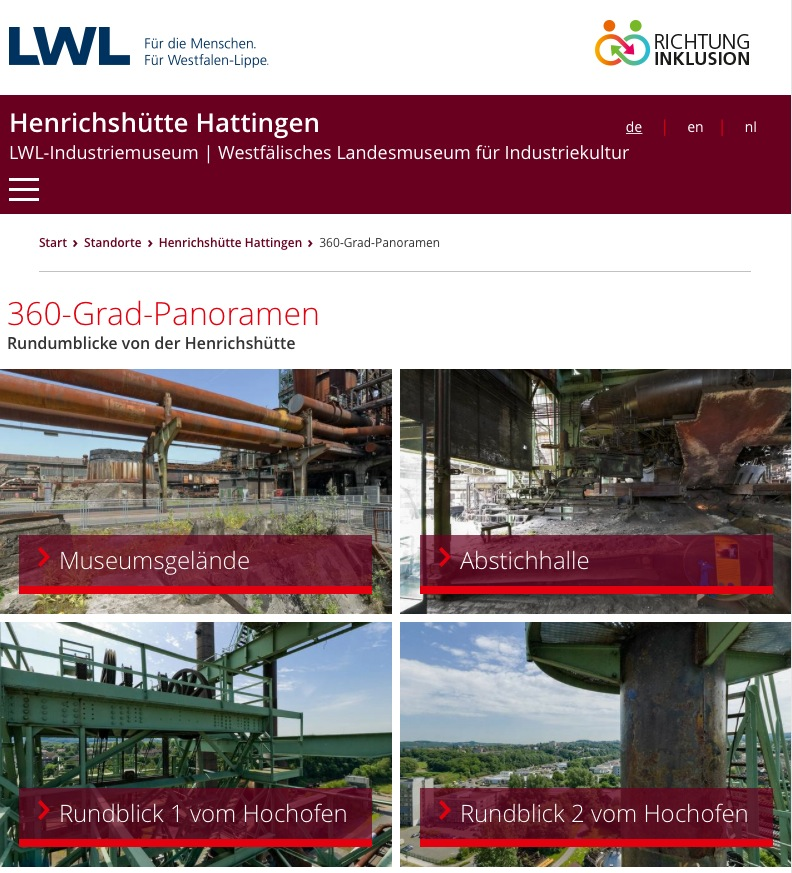 LWL-Website 360°-Panoramen