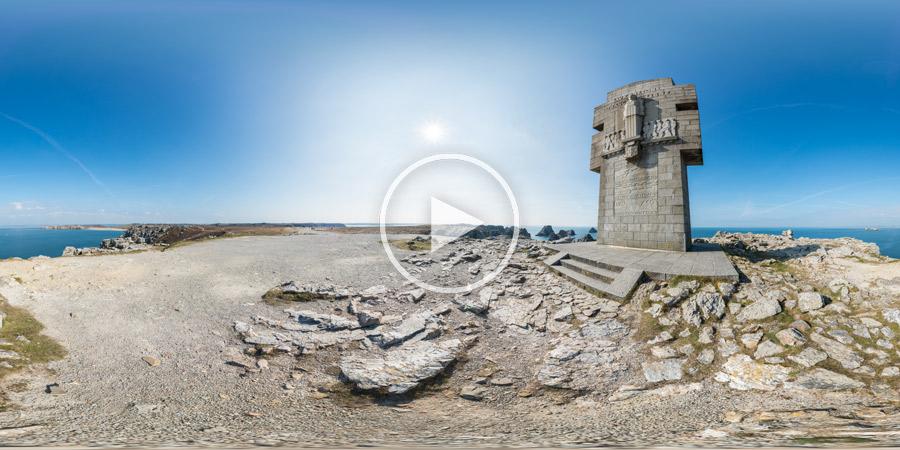 Croix de Pen-Hir | Bretagne / Finistère / Camaret-sur-Mer |Kugelpanorama#6 | 03.2016