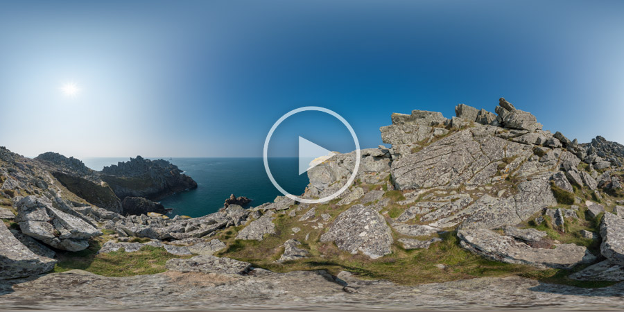 Pointe du Raz, Cap-Sizun, Finistère, Bretagne | Panoramafotografie #4297 | 03.2016