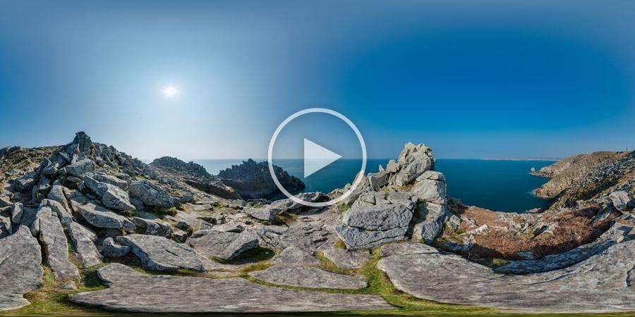 La Pointe du Raz en Cap-Sizun | Panorama #4356 | Kugelpanorama | 03.2016