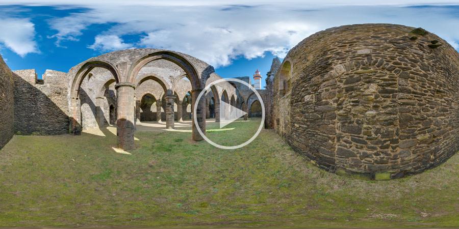 Abbaye Saint-Mathieu de Fine-Terre | Kugelpanorama #5478 | 03.2016