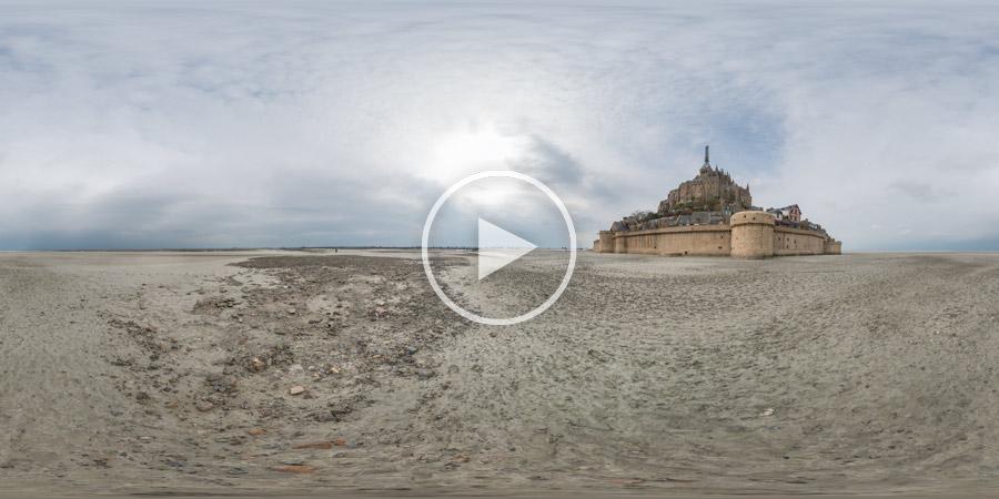 Mont St. Michel | Normandie | Kugelpanorama