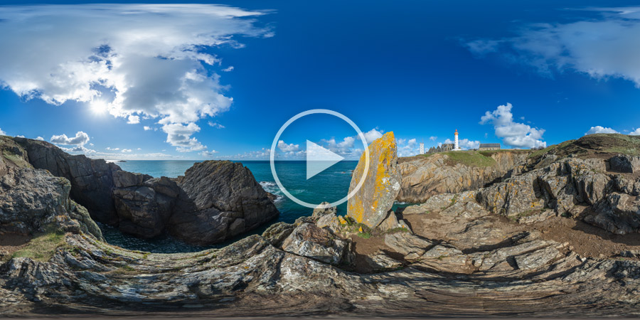 Pointe de Saint-Mathieu – Plougonvelin | Kugelpanorama #5408 | 03.2016