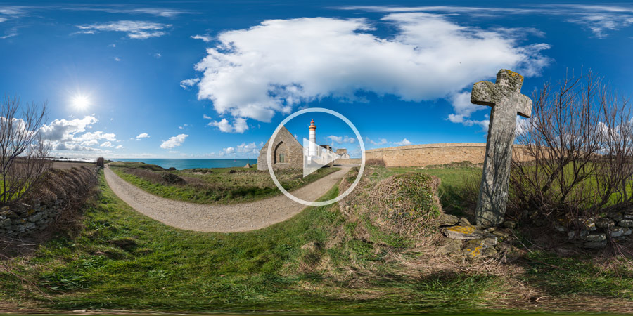 Pointe de Saint-Mathieu – Plougonvelin | Kugelpanorama #5442 | 03.2016