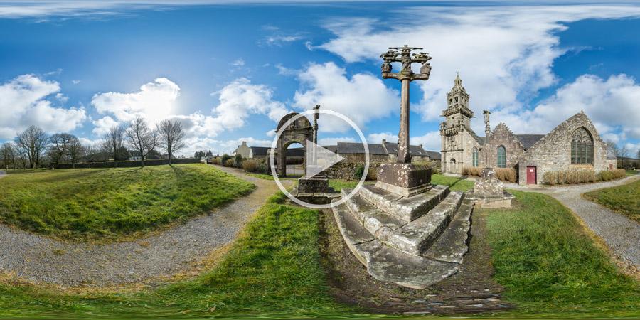Chapelle Sainte-Marie-du-Ménez-Hom 360°-Panorama | Bretagne | 360°x180° | 03.2016