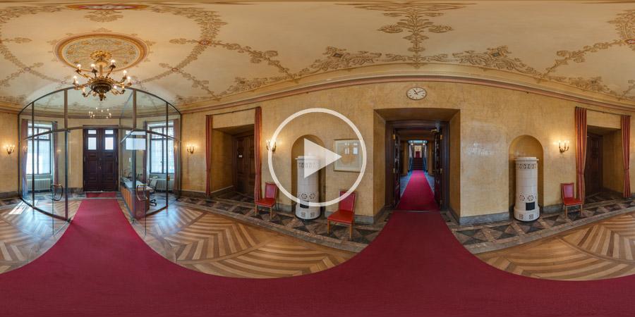 Vorraum im Stadtschloss Wiesbaden | Kugelpanorama von Chris Witzani