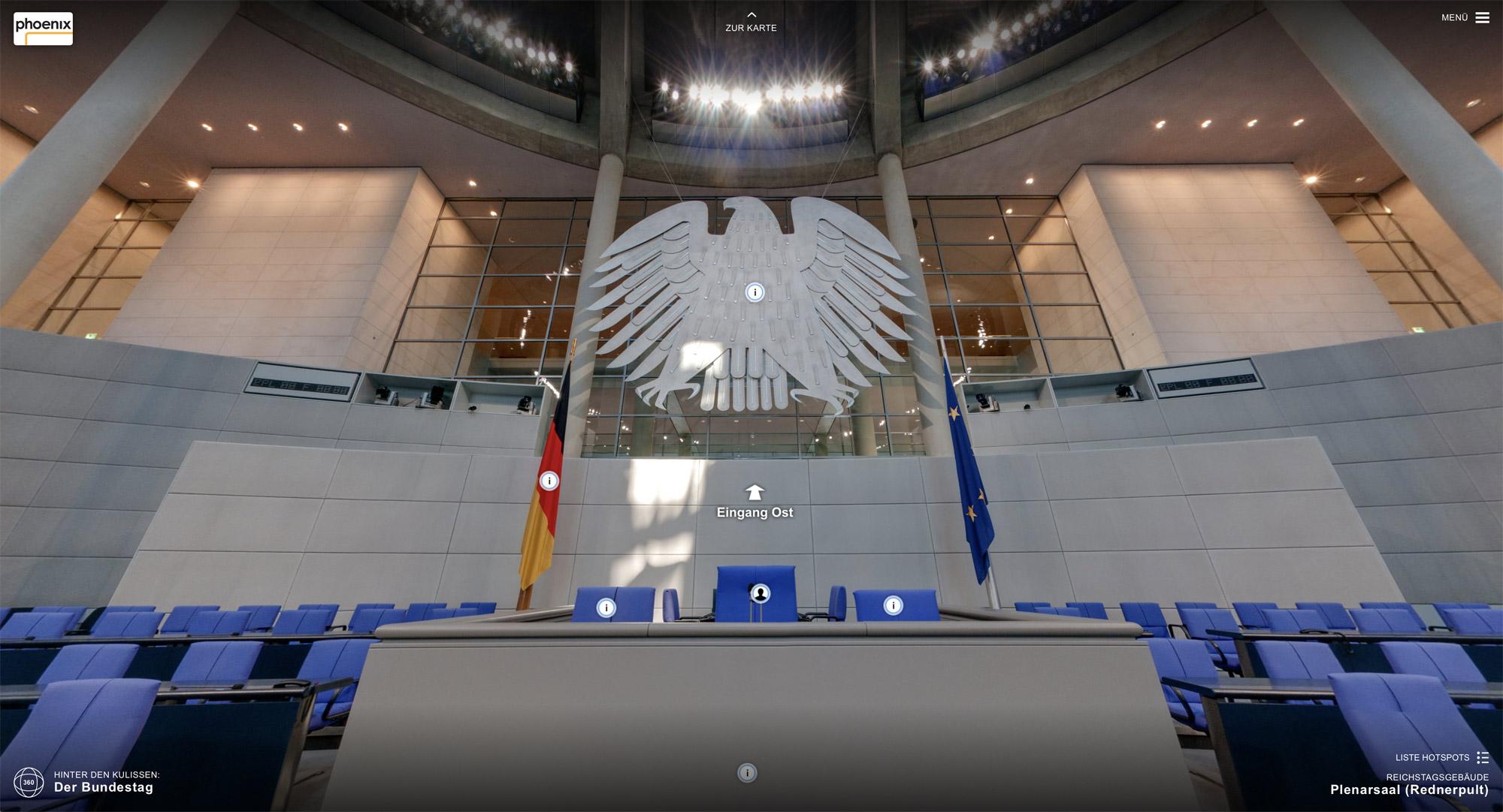 Bundestag Redepult
