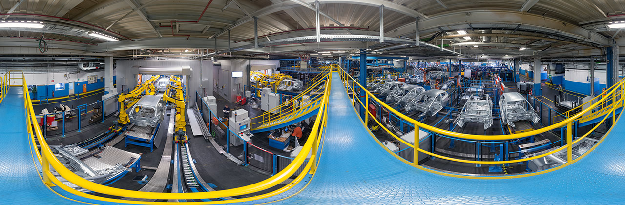 """WDR-Reportage """"Roboter in der Autoindustrie"""" in den Kölner Ford-Werken"""