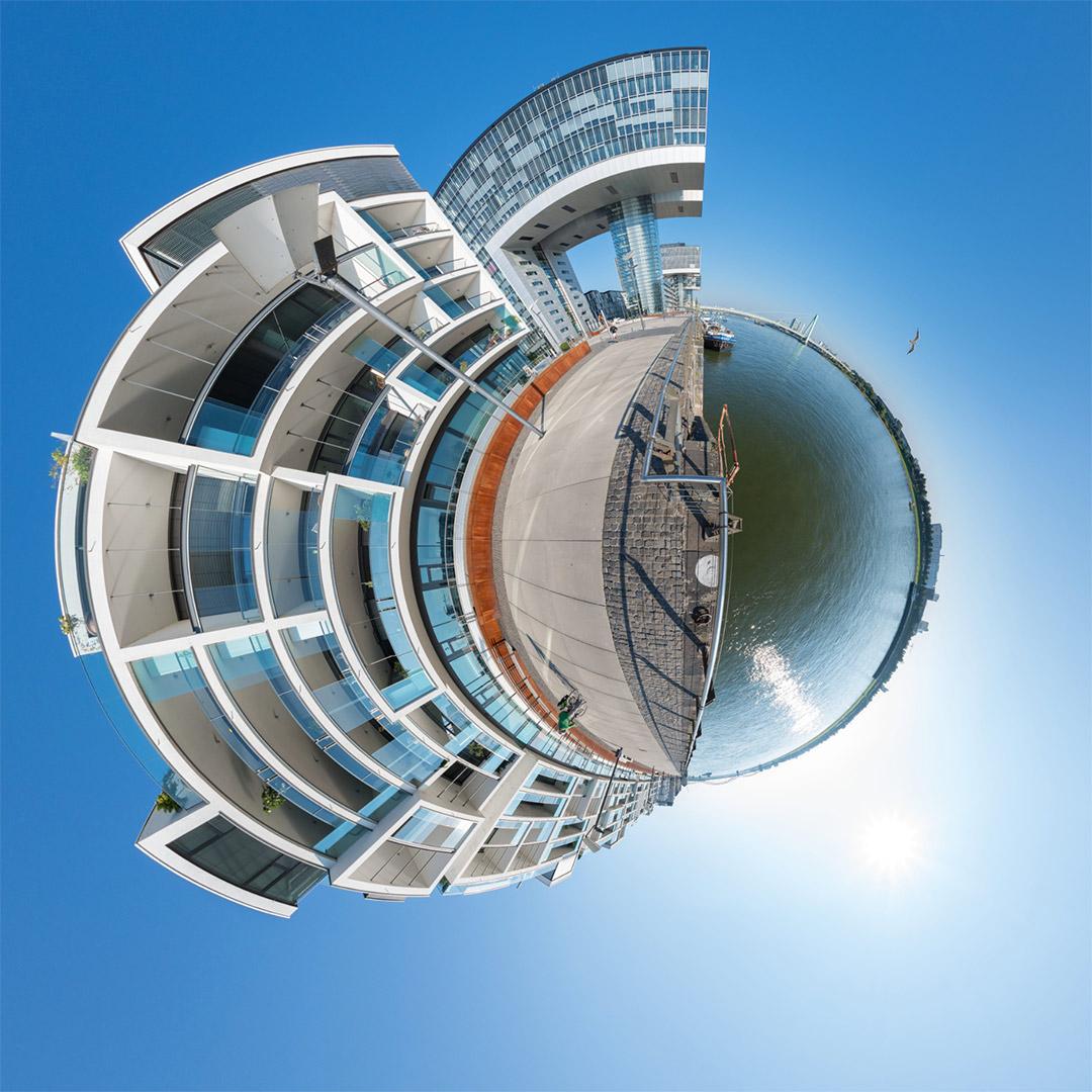 Little Planet | Wohnwerft 18.20 und Kranhaus im Rheinauhafen