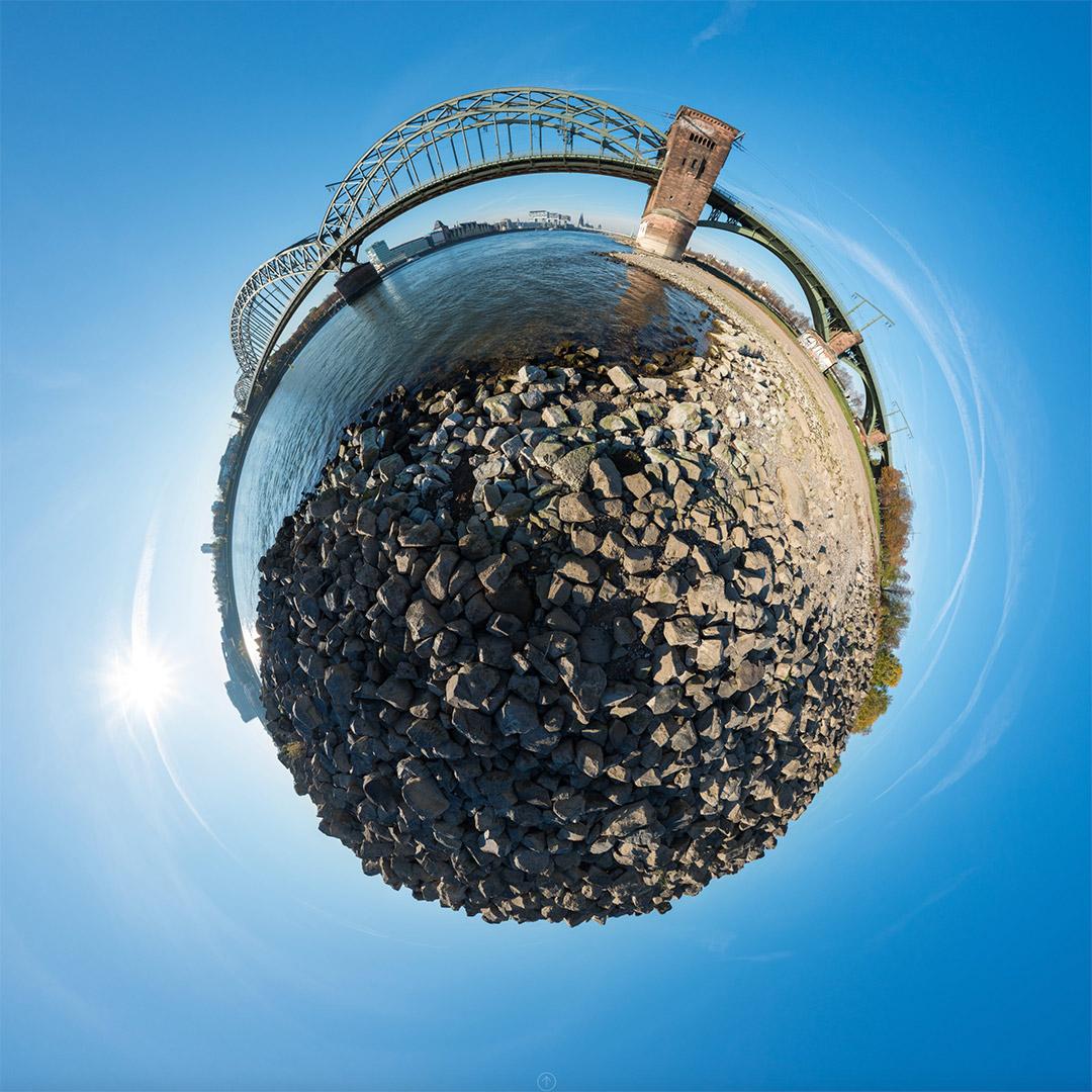 Little Planet | Südbrücke und Rheinbuhne #8