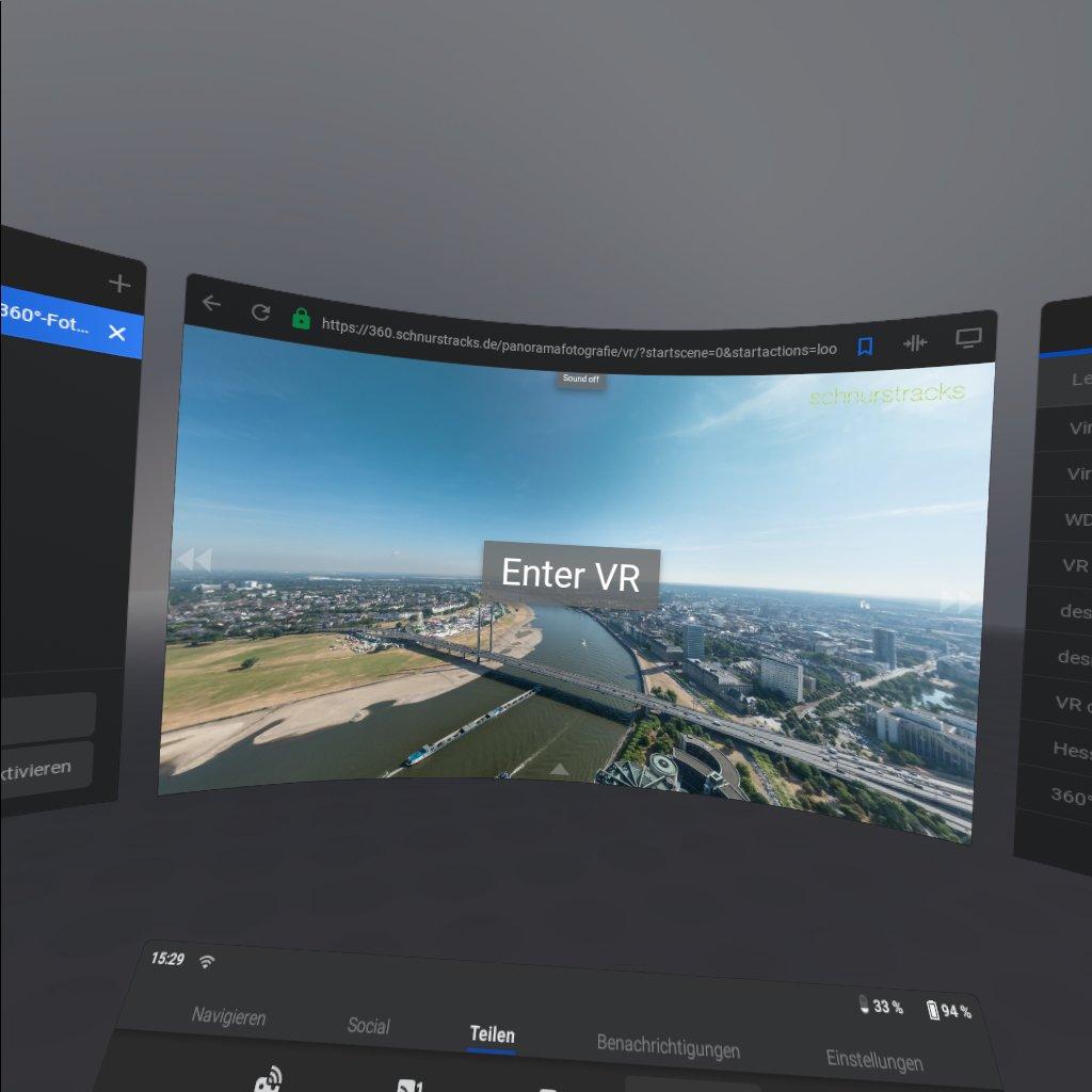 VR-Showreel mit industriellen Themen