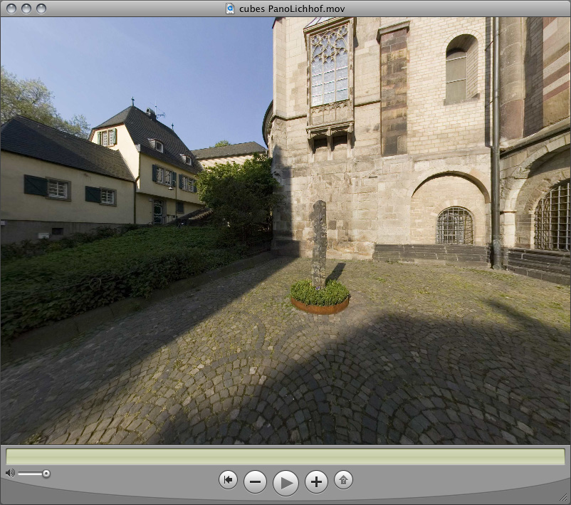 QuickTime VR Fenster