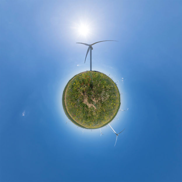 Little Planet Windrad