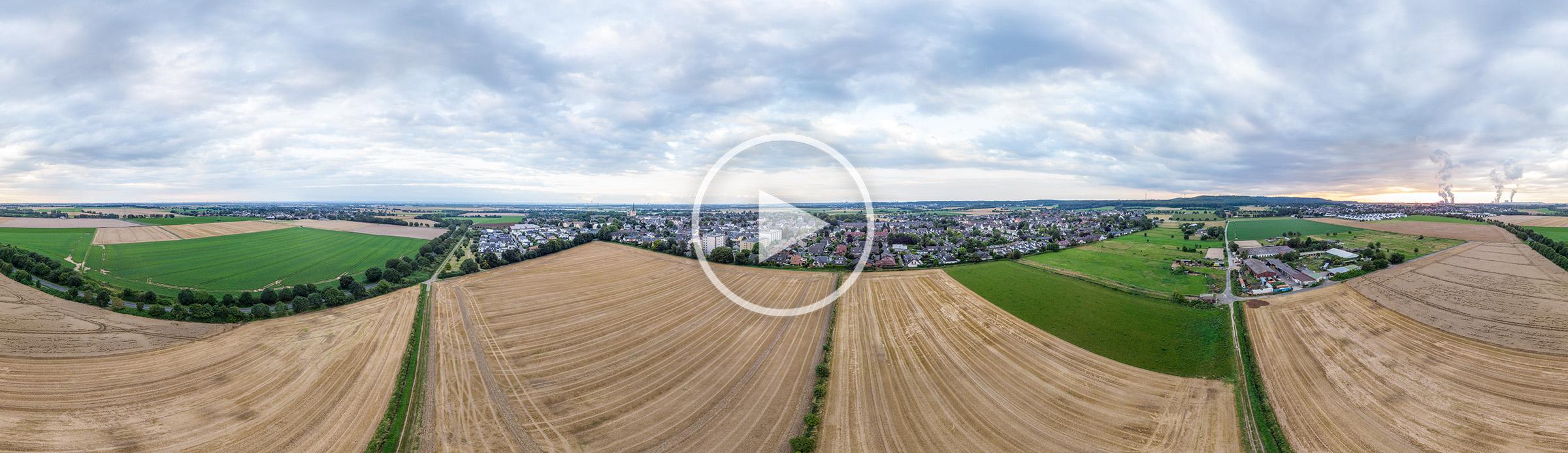 Pulheim-Brauweiler Luftbild